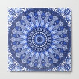 Mandala Coolness Metal Print