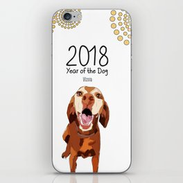 Year of the Dog - Vizsla iPhone Skin