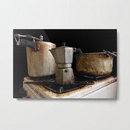 Café cubita Metal Print