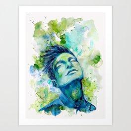 Dash by carographic, Carolyn Mielke Art Print