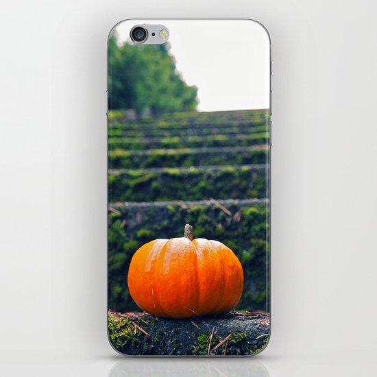 Stairway pumpkin iPhone & iPod Skin