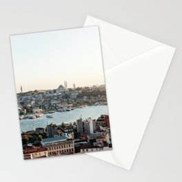 Perfect Turkish Sunsets - Istanbul, Turkey Stationery Cards