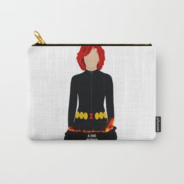 A One Woman Castrophe Carry-All Pouch