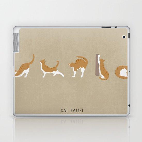 Cat Ballet Laptop & iPad Skin