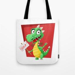Dragon Says Hola Tote Bag