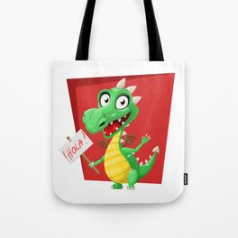 Dragon Says Hola Tote Bag