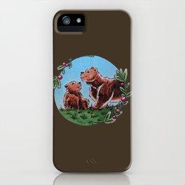 Mama Bear & Baby iPhone Case
