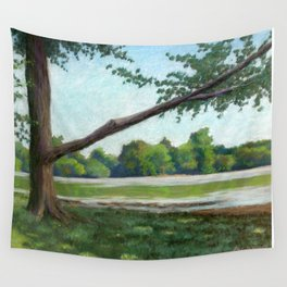 Prospect Park Lake Wall Tapestry