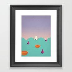H i d e Framed Art Print