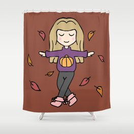 Fall Love Shower Curtain