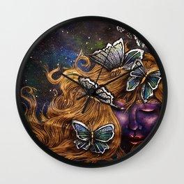 Messengers From Heaven Wall Clock
