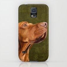 Magyar Vizsla portrait Slim Case Galaxy S5