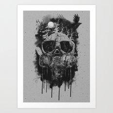 Suffocate Art Print