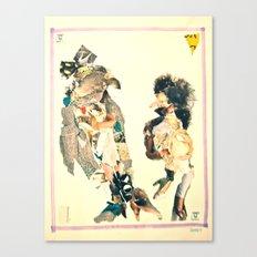 The Bird Walk Canvas Print