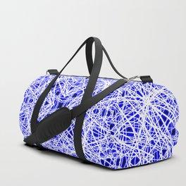 Blue Chaos 10 Duffle Bag