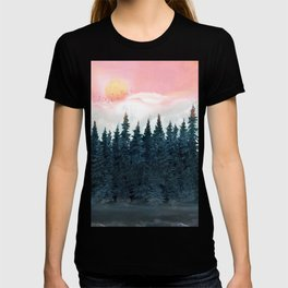 Forest Under the Sunset T-shirt