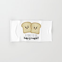 A Toast To The Happy Couple! Hand & Bath Towel