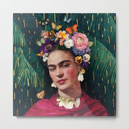 Frida Kahlo :: World Women's Day Metal Print