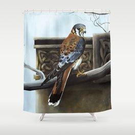 Castle Hunter Shower Curtain