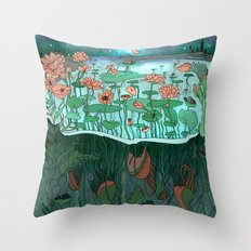Make Peace With It Throw Pillow