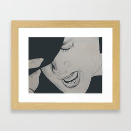 Panic! Framed Art Print