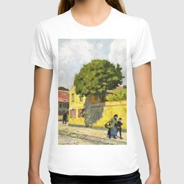 Paul Gustav Fischer - View From Nyboder - Digital Remastered Edition T-shirt