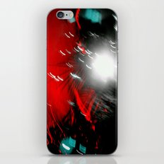 Red Flash with a Little Bit of You iPhone & iPod Skin