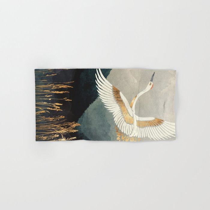 Elegant Flight Hand & Bath Towel