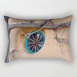 Santa Fe Adobe Window  Rectangular Pillow