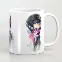 bride Mugs featuring Bride by Saje Gary