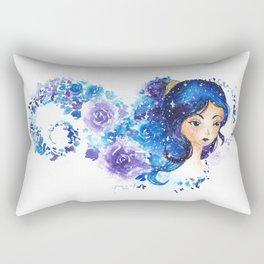 Galaxia Flora Rectangular Pillow