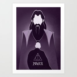 Dumbledore Tribute.  Art Print