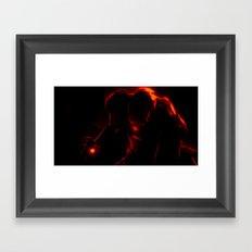 Iron Man Framed Art Print