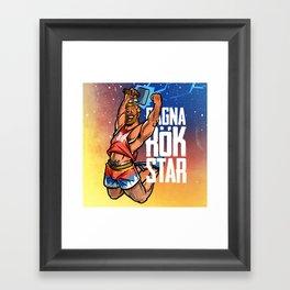 Ragnarök Star Framed Art Print