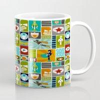 superheroes Mugs featuring Superheroes! by EloisaD