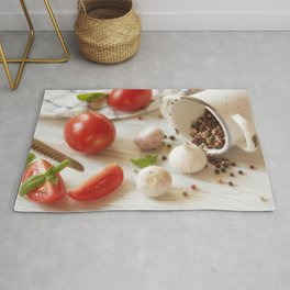#Fresh #Herbs and #Spice for #kitchen Rug