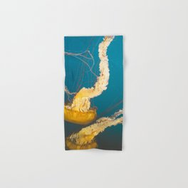 Pacific Sea Nettle Jellyfish I Hand & Bath Towel