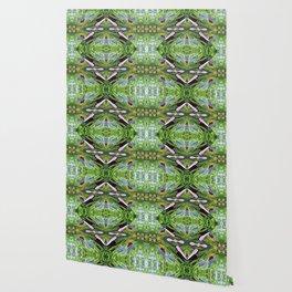 Green Diamond Star Wallpaper