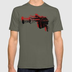 Blaster III Mens Fitted Tee Lieutenant LARGE