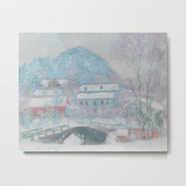 Sandvika, Norway by Claude Monet, 1895 Metal Print