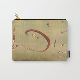 LOVE Texture Carry-All Pouch