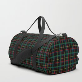 Red and green plaid Duffle Bag