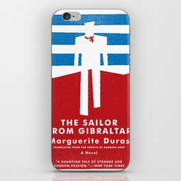 The Sailor from Gibraltar iPhone Skin