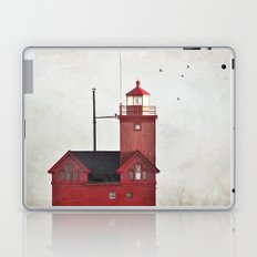 Light to a lost sailor Laptop & iPad Skin