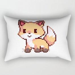 Kawaii Fox Rectangular Pillow