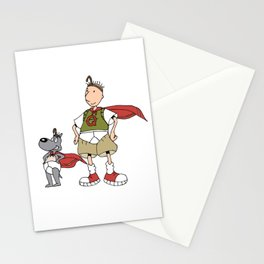 Doug Quail Man Stationery Cards