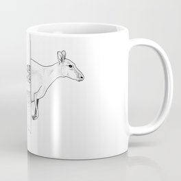 Lucky Bay Kangaroo Coffee Mug