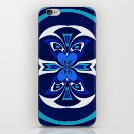 Pacific Northwest Coast Native Medallion iPhone Skin