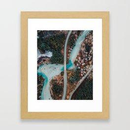 Array of Colours Framed Art Print
