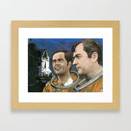 Columbia Framed Art Print